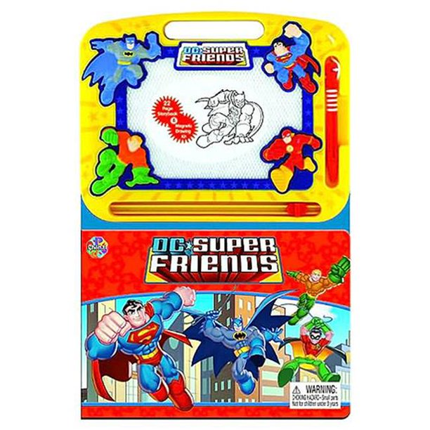 Superman 103-325 Dc Super Friends Magnetic Drawing Kit