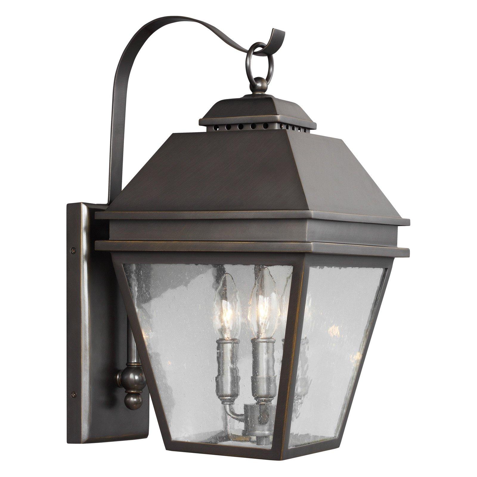 Feiss Herald 9.5 in. Outdoor Wall Lantern