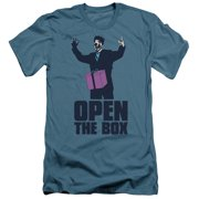 Saturday Night Live SNL Open The Box Mens Slim Fit Shirt
