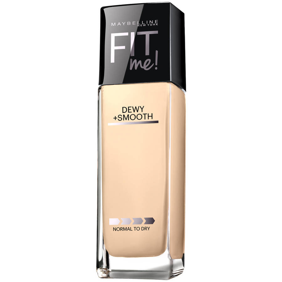 Maybelline Fit Me! Dewy + Smooth Foundation with SPF 18