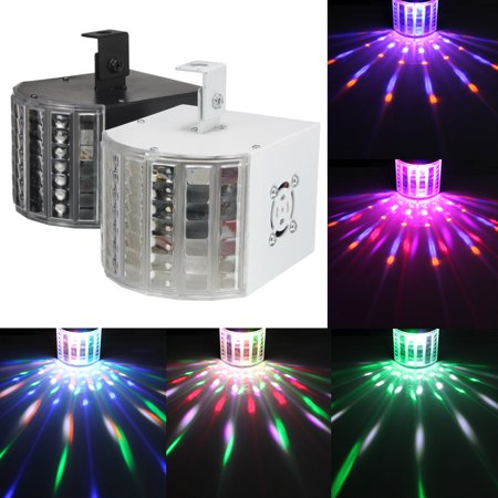 DJ Lights Sound Music Activated 18W RGB LED Strobe Effect Stage Light Disco Dance Party Show DMX512 - Strobe Light Party