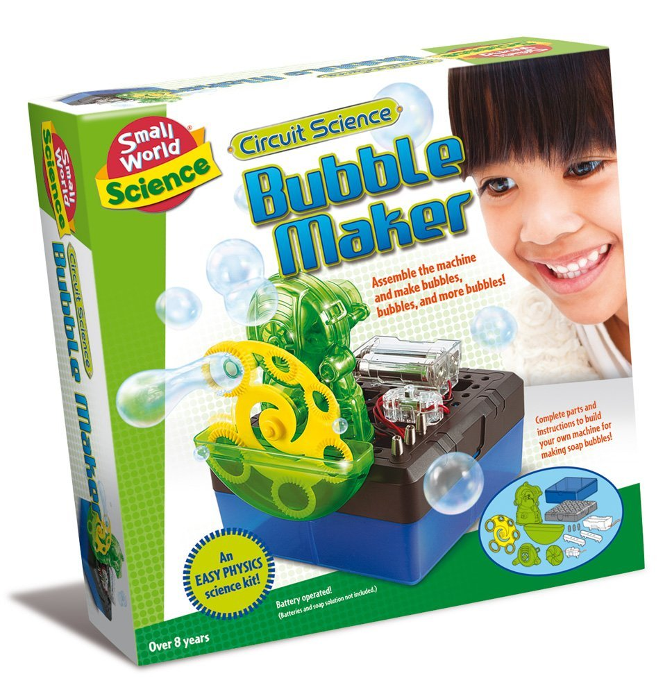 Science Circuit Science Bubble Maker Kit, With the Circuit Science Bubble Maker from Small World Toys, you'll... by