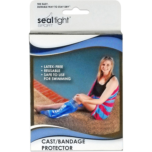 Seal-Tight Sport Cast and Wound Protector - Adult Short Leg
