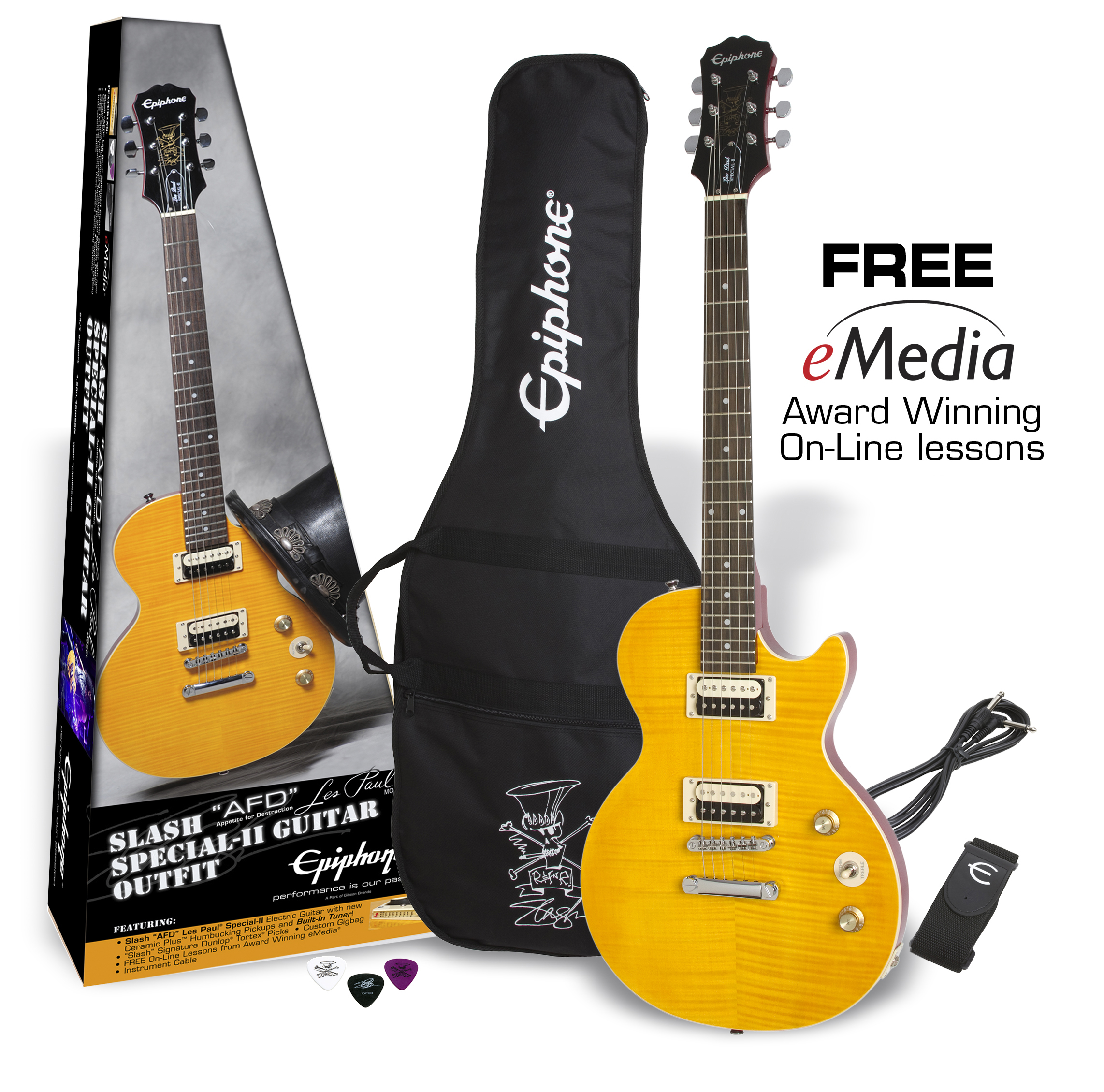 "Slash ""AFD"" LP Special-II Guitar Outfit"