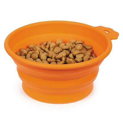 Portable Dog Water Bowl >> Portable Dog Bowl Bend A Bowls Collapsible Food And Water For Dogs
