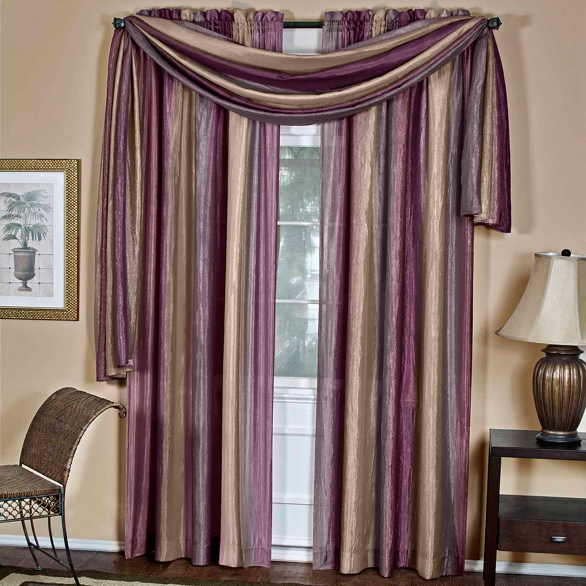 Ombre Curtain Scarf