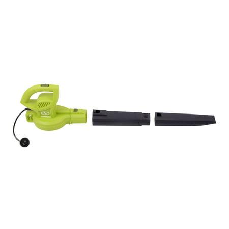 "Sun Joe 9.4"" H  6A Electric Blower - Green"