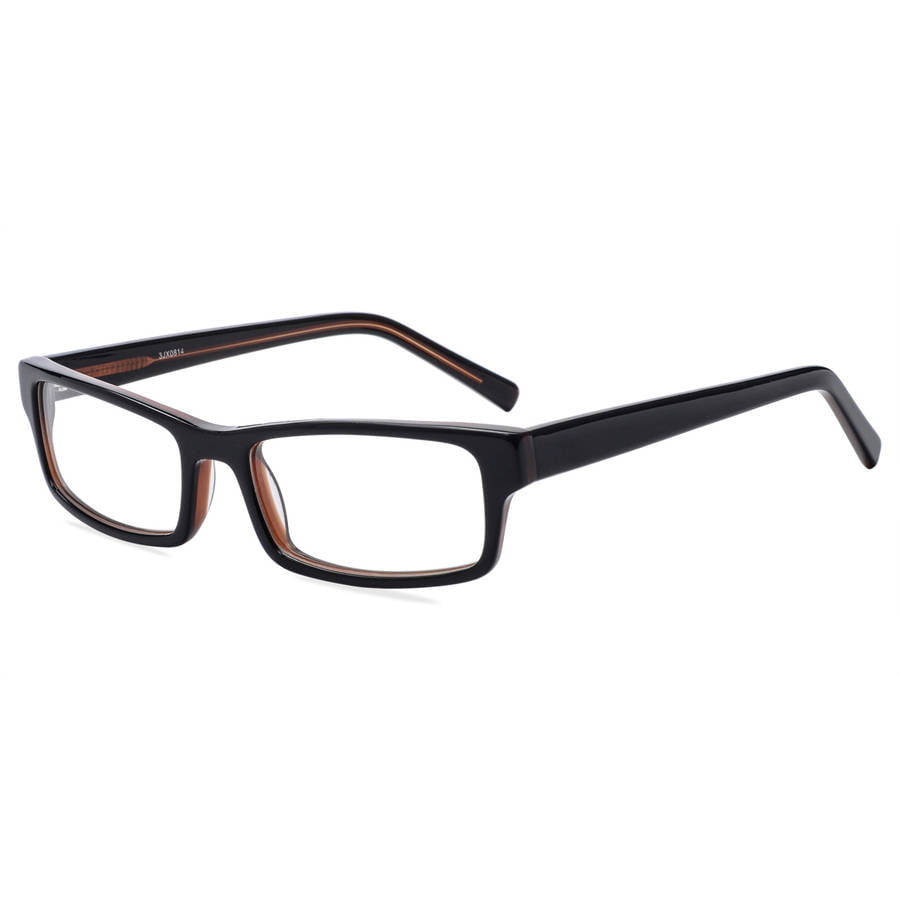 contour mens prescription glasses fm9238z blackbrown walmartcom