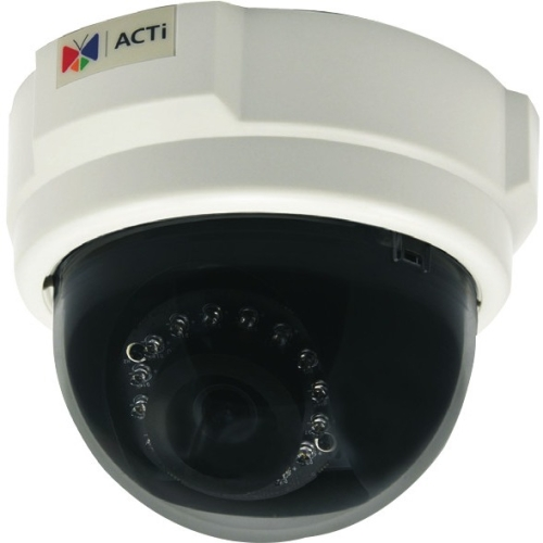 ACTi - D54 - ACTi D54 1 Megapixel Network Camera - Color, Monochrome - Board Mount - 1280 x 720 - CMOS - Cable - Fast