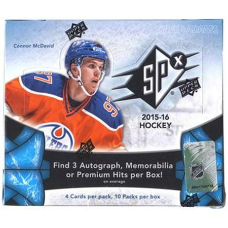 Aj Sports World 53334846639 2015   16 Upper Deck Spx Hockey Hobby Box   Mcdavid Rookie