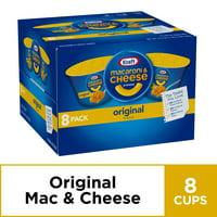 Kraft Easy Mac Original Flavor Macaroni and Cheese Dinner Cups, 16.4 oz
