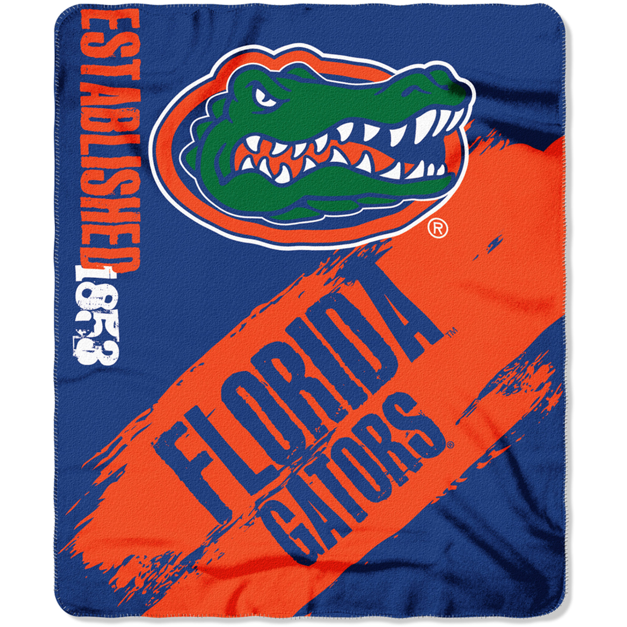 "NCAA Florida Gators 50"" x 60"" Fleece Throw"