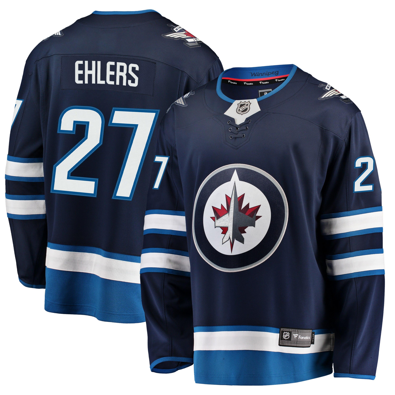 outlet store 74971 d2eb7 Nikolaj Ehlers Winnipeg Jets NHL Fanatics Breakaway Home Jersey
