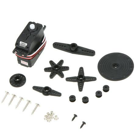 SpringRC SM-S4303R Large Continuous Rotation 360 Degree Plastic Servo for Robot ()