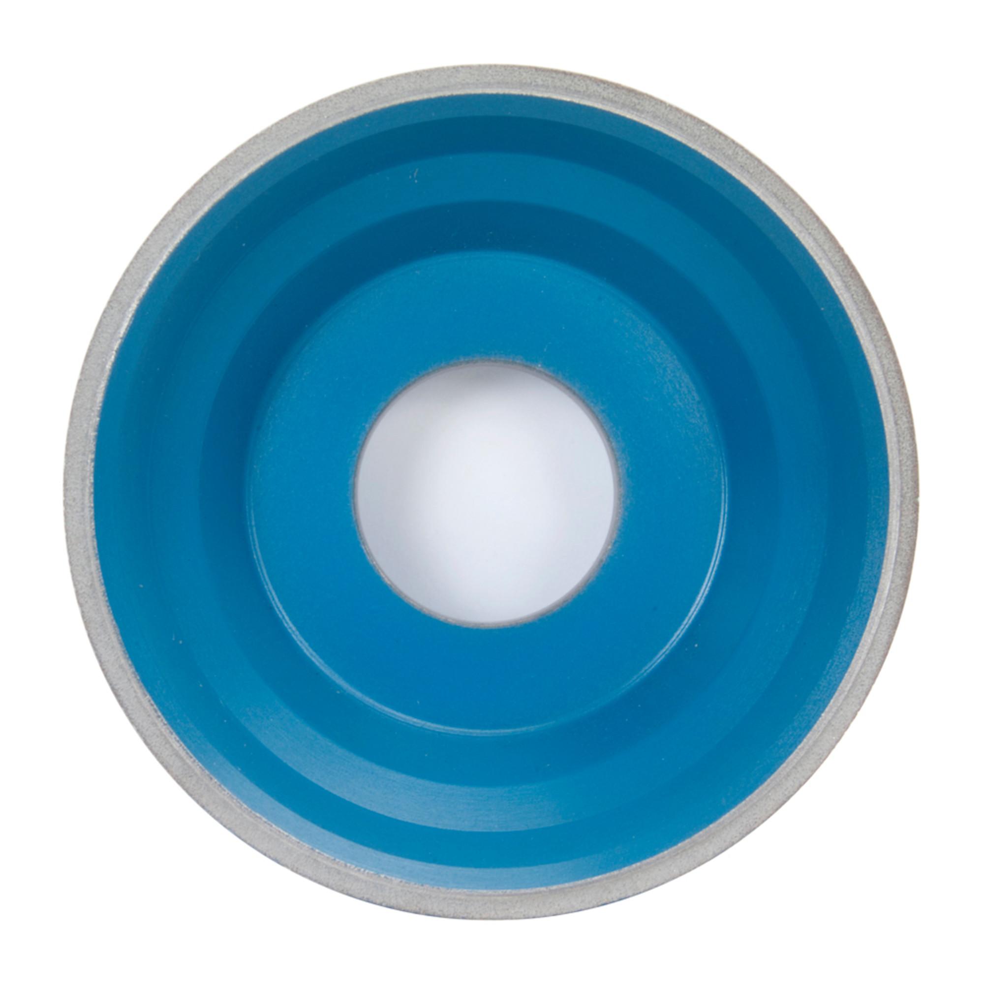 Flaring Cup Wheel, Diamond, 5 In Dia, 100SG