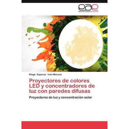 Proyectores de colores led y concentradores de luz con - Proyectores de luz ...