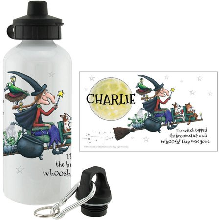 Personalized Room On The Broom Whoosh Water Bottle