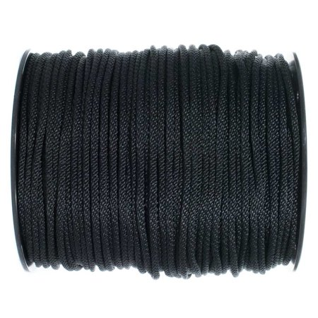 Golberg Solid Braid Black or White Nylon Rope 1/8-inch, 3/16-inch, 1/4-inch, 5/16-inch, 3/8-inch, 1/2-inch - Various - Antique White Black Rope
