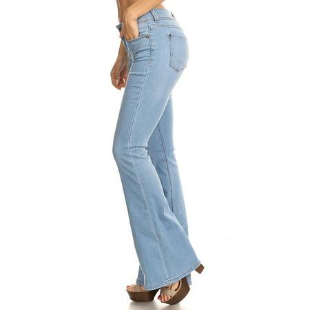 Classic Premium Denim, Flare Bootleg Bootcut Jeans