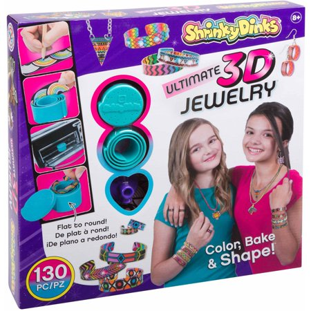 Shrinky Dinks Ultimate Bake and Shape 3D Jewelry - Shapes 3d
