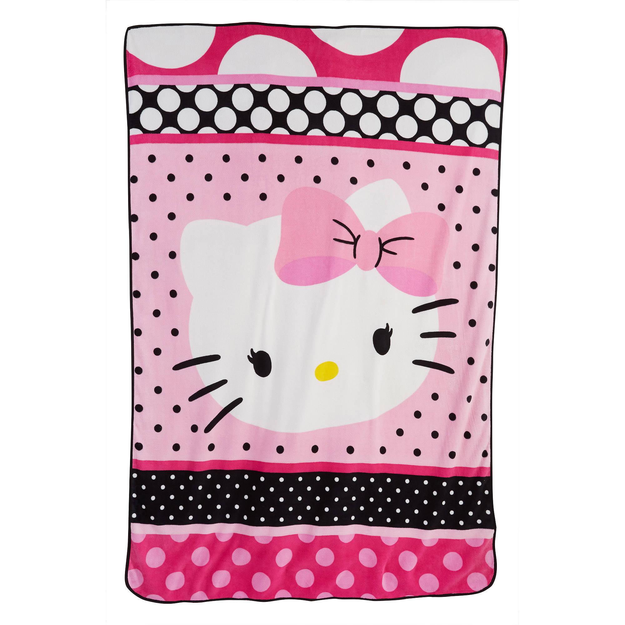 Hello Kitty Tokidoki Blanket: Hello Kitty Throw Rug