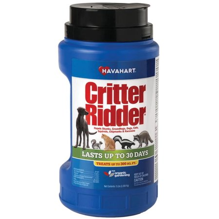 Havahart Critter Ridder 5 lb Animal Repellent Granular -