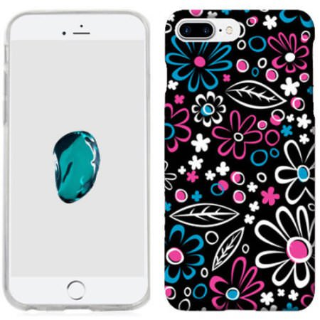 MUNDAZE Cute Daisies Case Cover For Apple iPhone 8