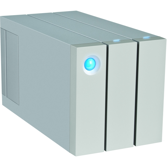 LaCie 2big STEY16000100 16 TB External Hard Drive Thunderbolt 2, USB 3.0 7200rpm by LaCie