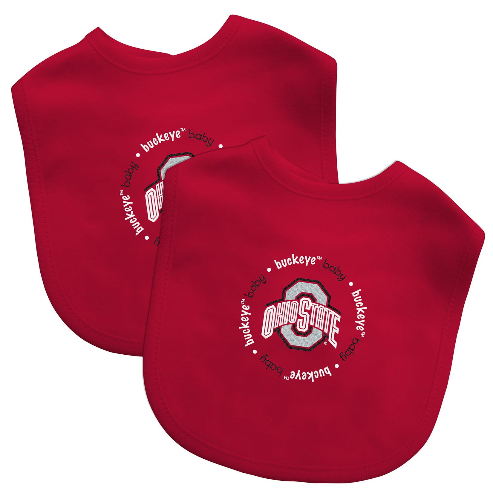 Baby Fanatic Team Color Bibs 2-Count Arizona Cardinals