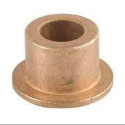 BUNTING BEARINGS ECOF060804 Sleeve Bearing, I.D. 3/8, L 1/4, PK3