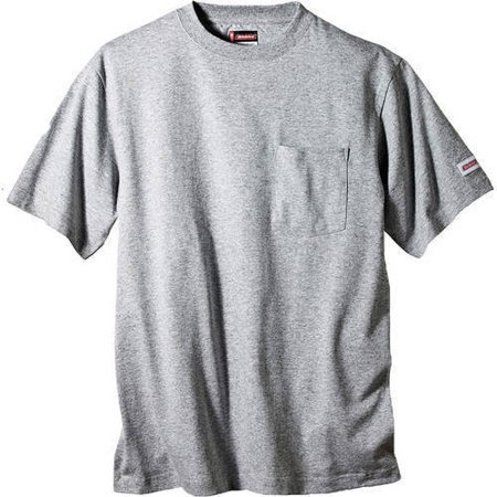 Genuine Dickies Big And Tall Men  8217 S Heavy Weight Pocket Tee  2 Pack