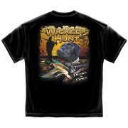 Cotton Wicked Hunt Ducks & Dogs Graphic T-Shirt