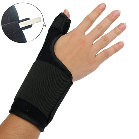 Wrist, Hand, and Thumb Stabilizer Immobilizer Support Wrap Brace - Thumb Spica Splint for Arthritis, Tendonitis and More. Fits Both Right Hand and Left Hand for Men and Women