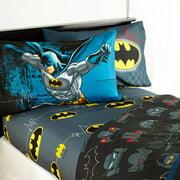 "Warner Brothers Batman ""Guardian Speed"" Bedding Sheet Set"