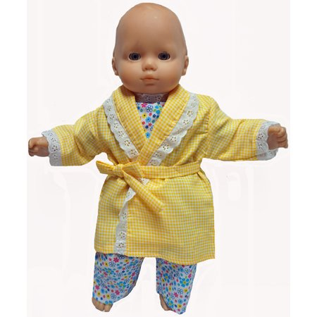 Baby Doll Clothes At Walmart Mesmerizing Bathrobe And Pajamas Doll Clothes Fits 6060 Inch Baby Dolls
