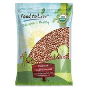 Organic Pinto Beans, 10 Pounds - Non-GMO, Kosher, Raw, Sproutable, Vegan, Bulk - by Food to Live
