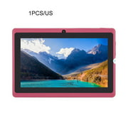 2PACK New Portable Size Tablet 7 Inch Tablet For Allwinner A33 Tablet PC 512MB+ 4GB For 4.4 Quad Core Q88 Kids PAD