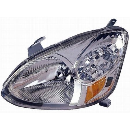 Go-Parts » 2003 - 2005 Toyota Echo Front Headlight Headlamp Assembly Front Housing / Lens / Cover - Left (Driver) Side 81170-52300 TO2518102 Replacement For Toyota