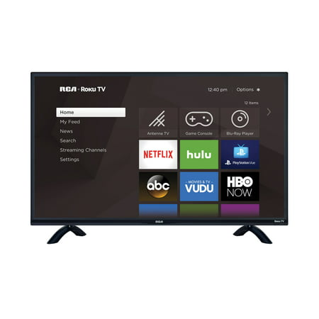 "RCA 32"" Class HD 720P Roku Smart LED TV RTR3260-W"