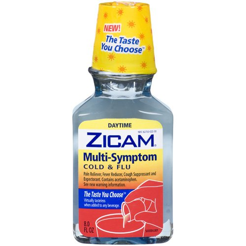 Zicam: Cold & Flu Daytime Multi-Symptom, 8 fl oz