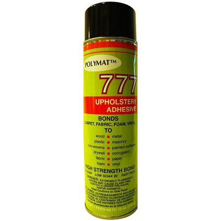 Polymat 777 Spray Glue for Gun Case Safe Felt Lining](Glee Cast Halloween)