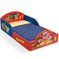 Nick Jr. PAW Patrol Plastic Sleep and Play Toddler Bed by Delta Children