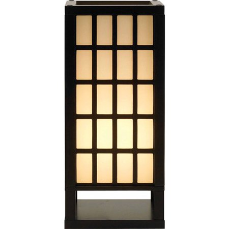 Adesso Middleton Table Lantern, Black