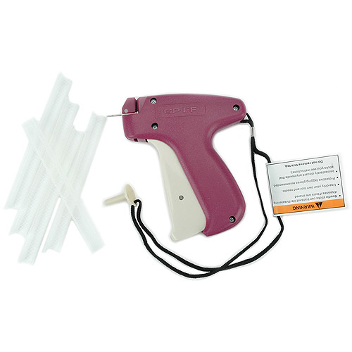 June Tailor Quilt Basting Gun with 500 Fasteners