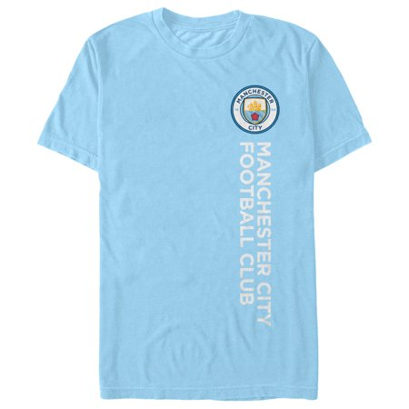 Manchester City Football Club Men's Vertical Text Logo T-Shirt](Halloween City Logo)