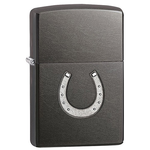 Zippo Horseshoe Embossed Lighter