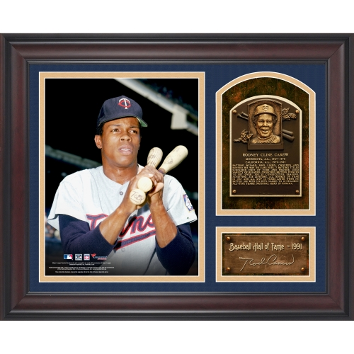 "Rod Carew Minnesota Twins Fanatics Authentic Framed 15"" x 17"" Baseball Hall of Fame Collage with Facsimile Signature - No Size"