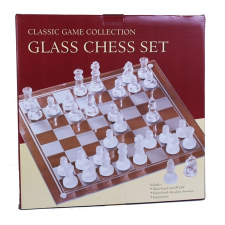Etched Glass Chess Set (Hansen Chess Set)