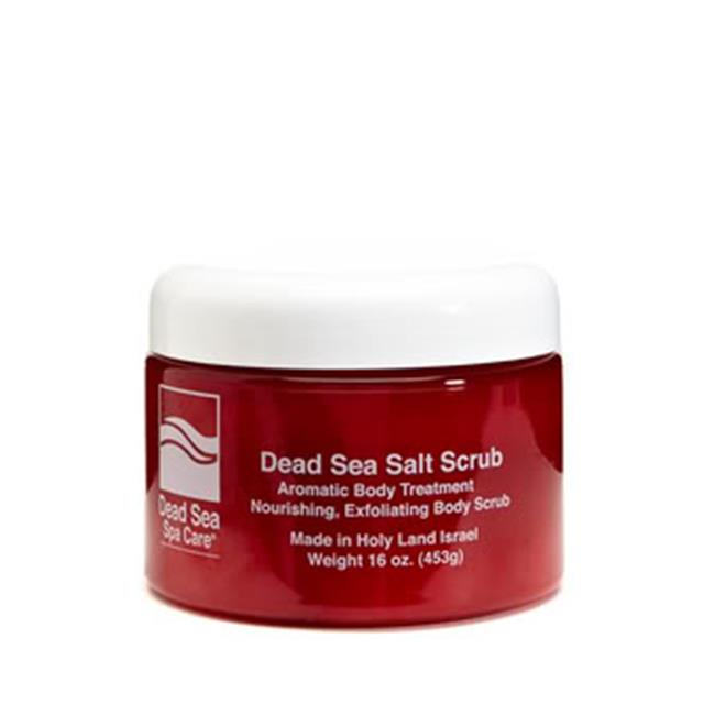 Dead Sea Spa Care  Dry 16-ounce Salt Scrub (Pack of 4) Dr. Lin Skincare 3 Step Acne Clarifying System for Moderate to Severe Acne