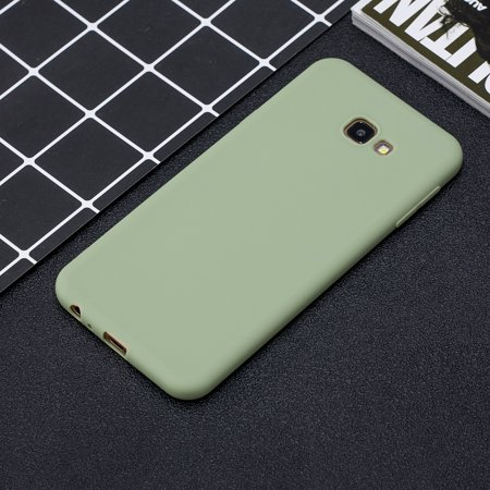 For Samsung J4 PLUS Lovely Candy Color Matte TPU Anti-scratch Non-slip Protective Cover Back Case Color:10 - image 4 of 8